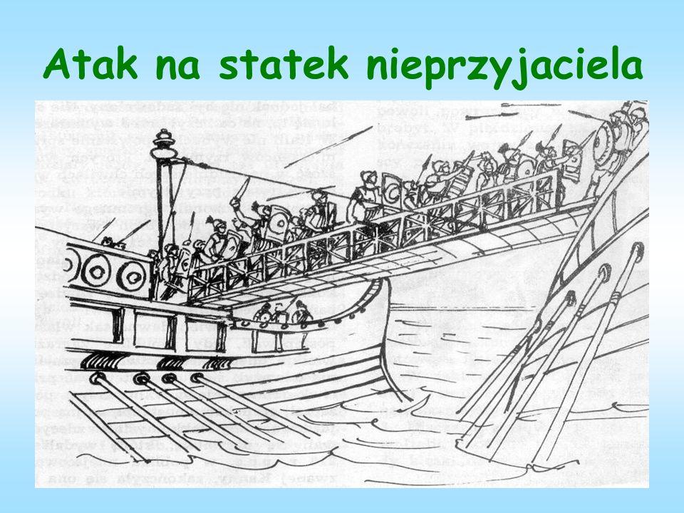 Atak na statek nieprzyjaciela