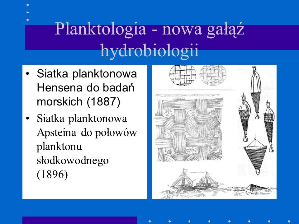 Wyprawa na statku National kierownik Viktor Hensen (1889) Celem wyprawy było poznanie pożywienia ryb. Wykazano wtedy, że pokarmem dla ryb są drobne or