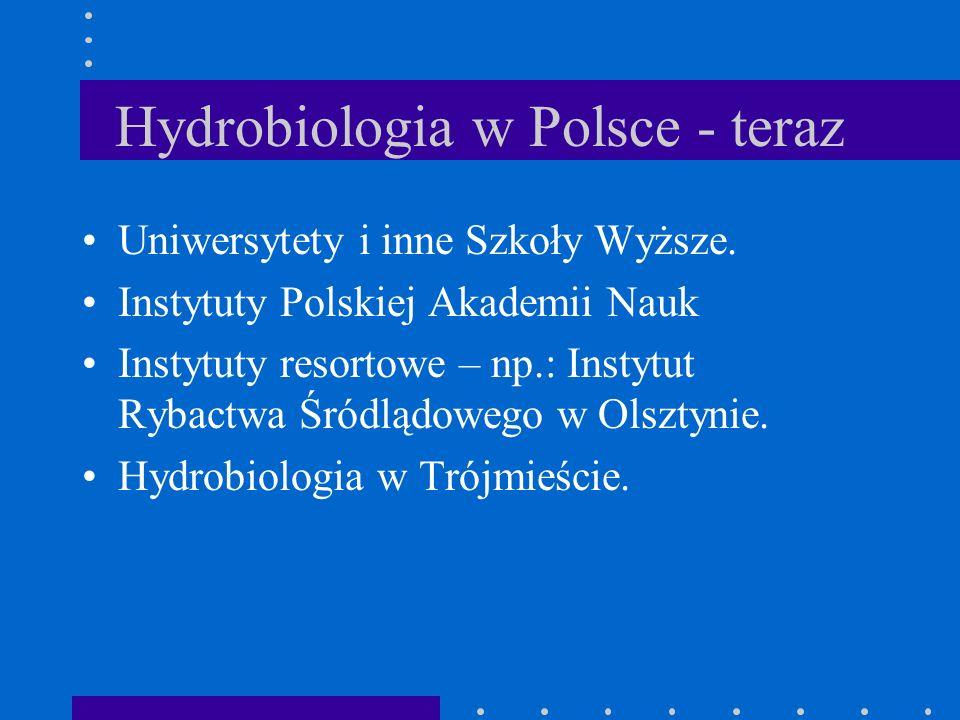 Stacje terenowe w Polsce w okresie międzywojennym II W 1923 roku Morskie Laboratorium Rybackie w Helu - kier. Kazimierz Demel. W 1932 r zmiana nazwy n