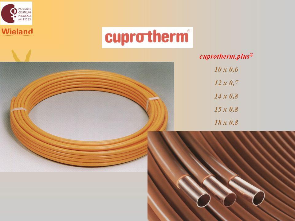 cuprotherm.plus ® 10 x 0,6 12 x 0,7 14 x 0,8 15 x 0,8 18 x 0,8