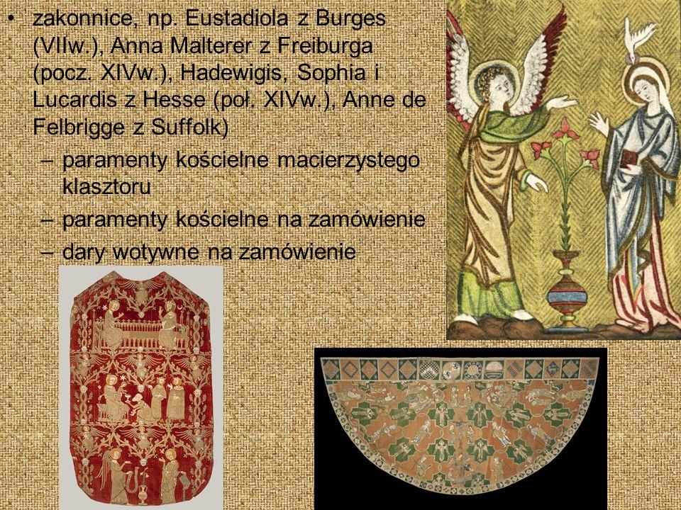 zakonnice, np.Eustadiola z Burges (VIIw.), Anna Malterer z Freiburga (pocz.