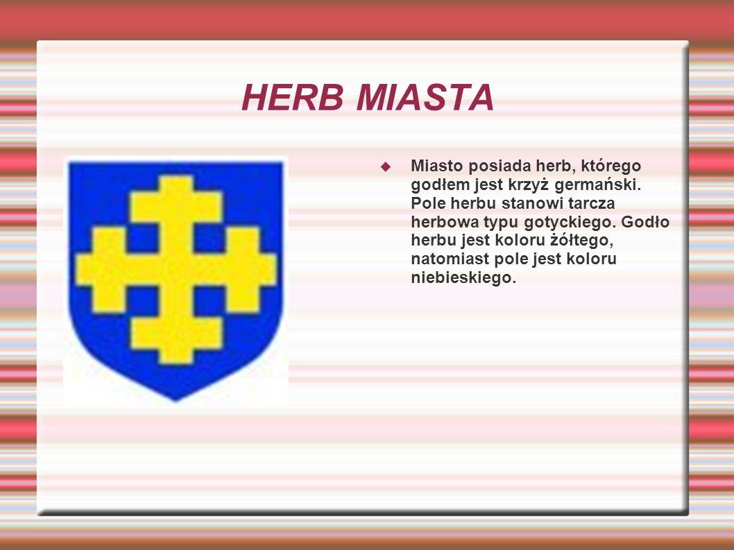 FLAGA MIASTA Flaga miasta stanowi prostokąt i składa się z dwóch równych pasów.
