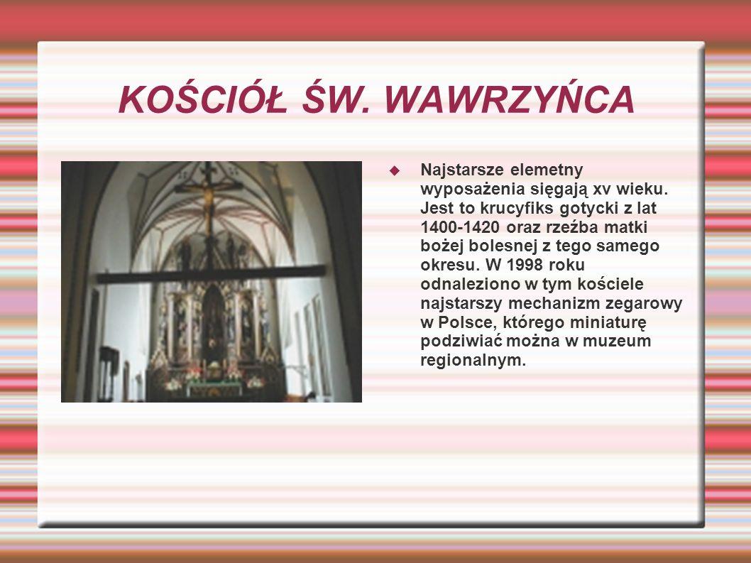 KOŚCIÓŁ ŚW.LEONARDA Kościół pw najświętszej marii panny i św.