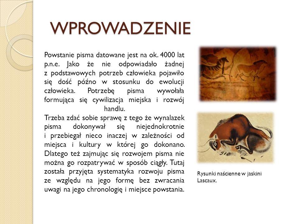 PISMO WĘZEŁKOWE Kiedy nie zostało wynalezione jeszcze pismo, posługiwano się pewnymi systemami znaków, sygnałami i symbolami.
