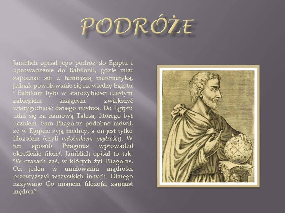 Pitagorejczycy – wyznawcy doktryny rozwiniętej przez Pitagorasa i jego następców w szkole religijno-filozoficznej, którą założył w Krotonie w Wielkiej Grecji, w południowych Włoszech.