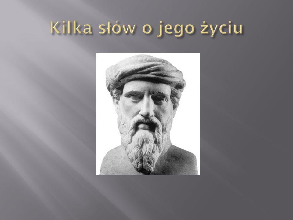 Ustalenie dokładnej daty urodzin i śmierci Pitagorasa jest trudne, można przyjąć rok ok.