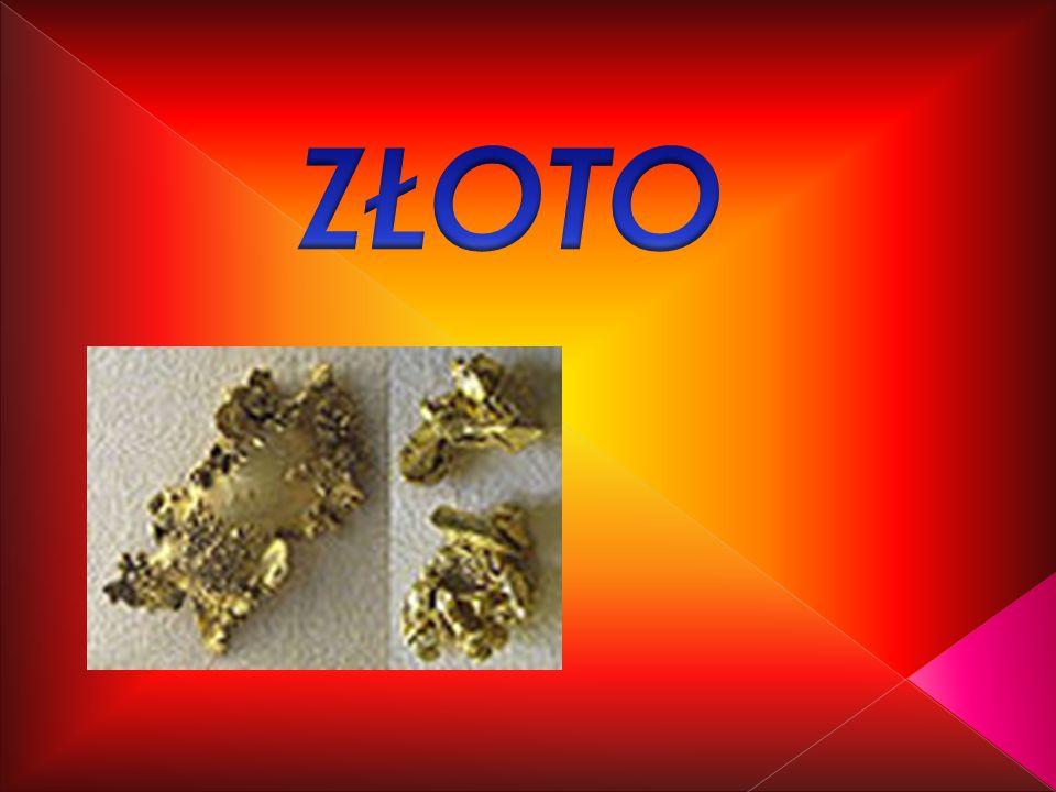 łacińska nazwa- aurum, symbol Au liczba atomowa 79 Sztabki złota
