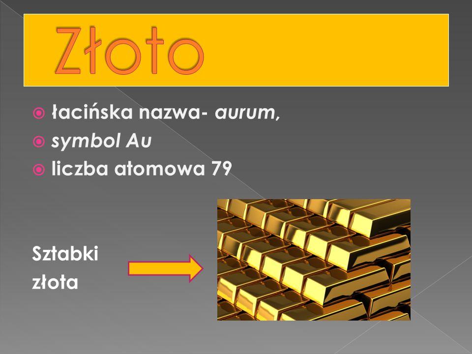 Złoto było znane już w starożytności, świadczą o tym bogato zdobione maski faraonów.