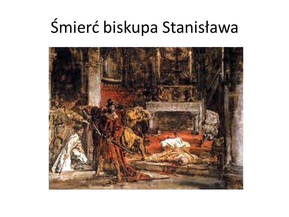 Śmierć biskupa Stanisława