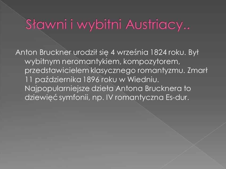Anton Bruckner urodził się 4 września 1824 roku. Był wybitnym neromantykiem, kompozytorem, przedstawicielem klasycznego romantyzmu. Zmarł 11 październ