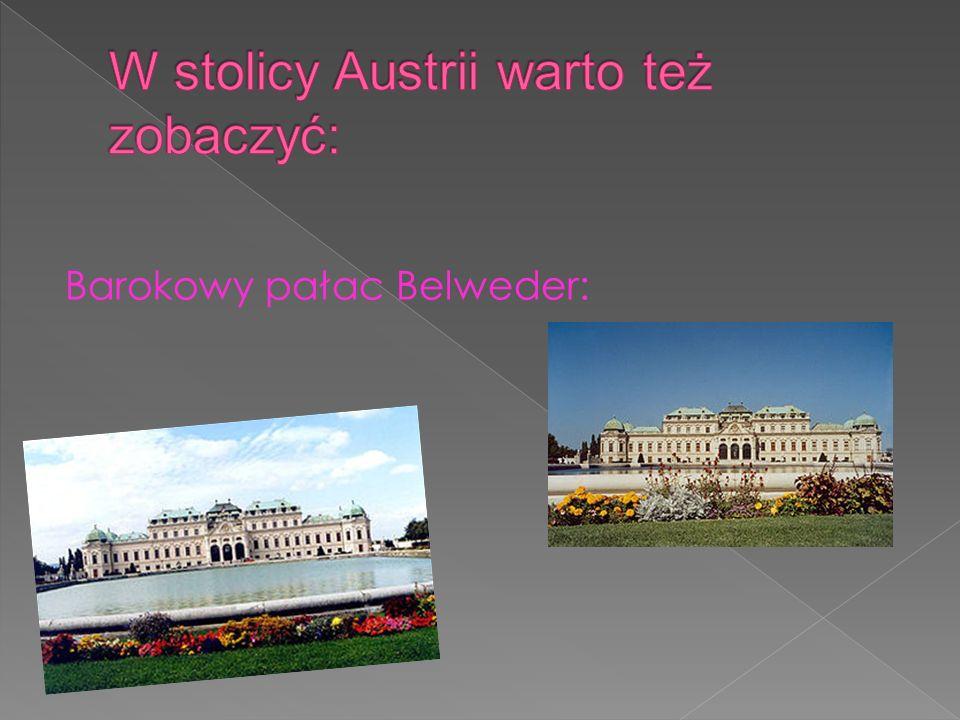 Barokowy pałac Belweder: