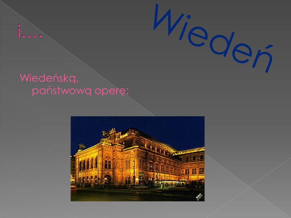 Wiedeńską, państwową operę: Wiedeń