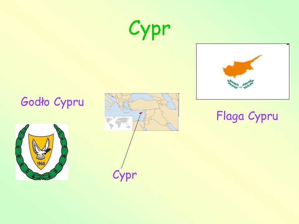 Cypr Godło Cypru Flaga Cypru Cypr
