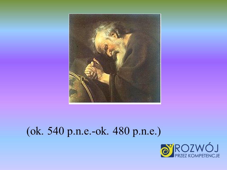 (ok. 540 p.n.e.-ok. 480 p.n.e.)