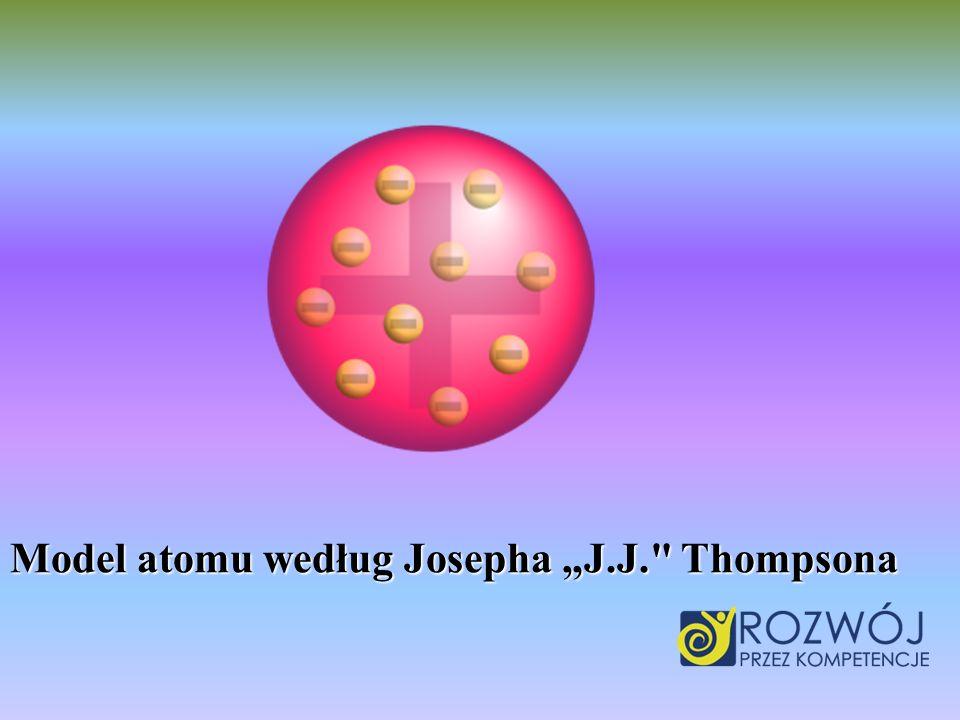 Model atomu według Josepha J.J.
