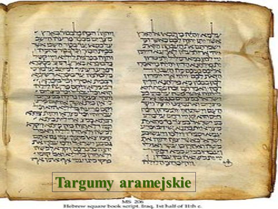 SEPTUAGINTA Najważniejszym z wczesnych przekładów pism hebrajskich Starego Testamentu i pierwszym tłumaczeniem z hebrajszczyzny zachowanym na piśmie jest greckojęzyczny przekład dokonany na przestrzeni lat 250-150 p.n.e.