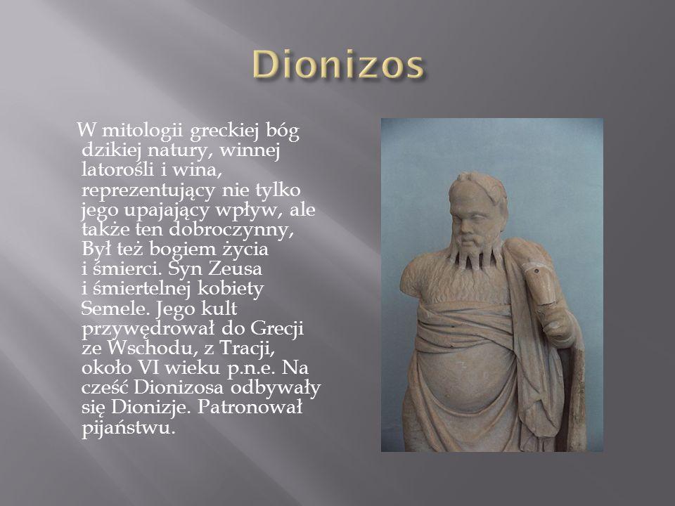 W mitologii greckiej bóg ognia, kowali i złotników.