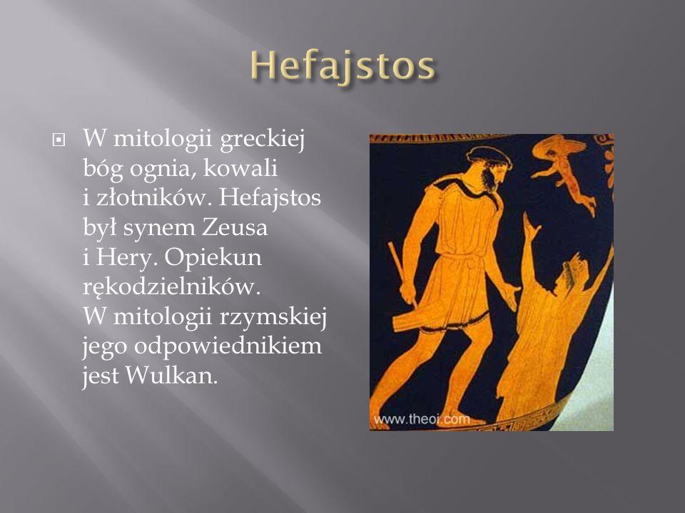 Jest w mitologii greckiej jednym z 12 bogów olimpijskich.