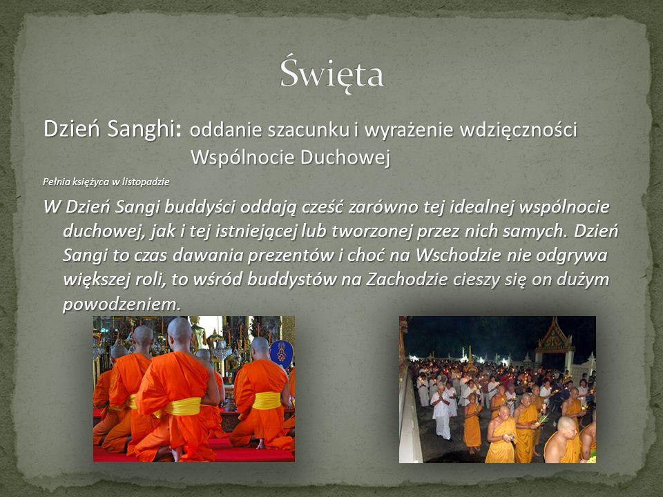Dzień Sanghi: o oo oddanie szacunku i wyrażenie wdzięczności Wspólnocie Duchowej Pełnia księżyca w listopadzie W Dzień Sangi buddyści oddają cześć zar