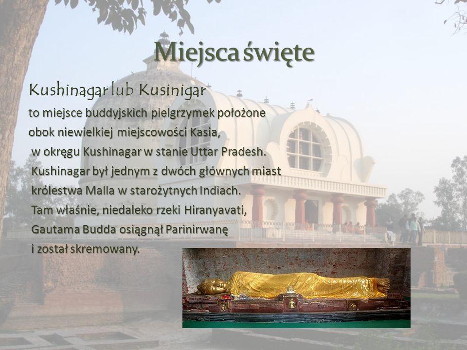 Lumbini jedno z czterech świętych miejsc buddyzmu.
