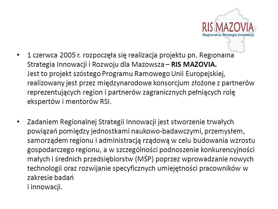 1 czerwca 2005 r.rozpoczęła się realizacja projektu pn.