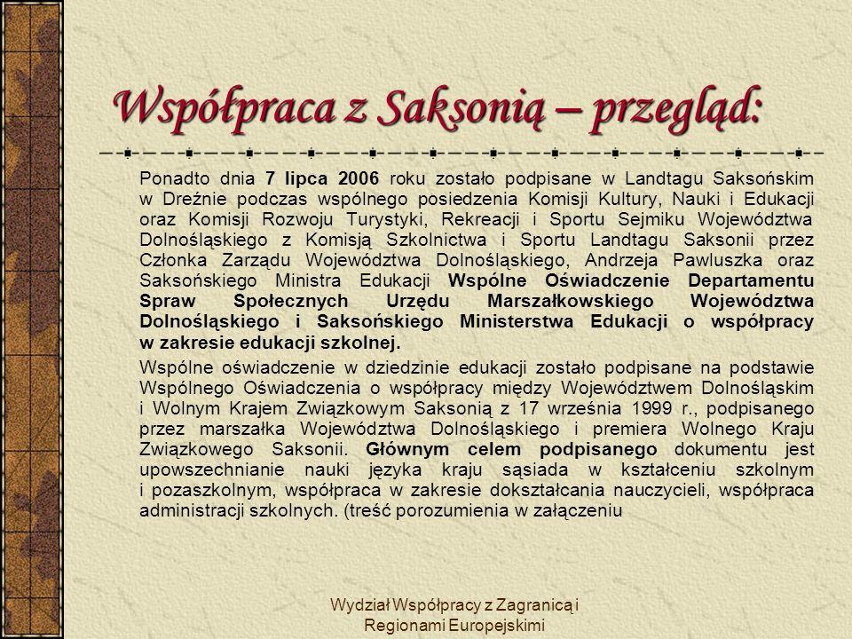 Wydział Współpracy z Zagranicą i Regionami Europejskimi Gospodarka saksońska na Dolnym Śląsku: HABAS – Fabryka Fabryk S.A.