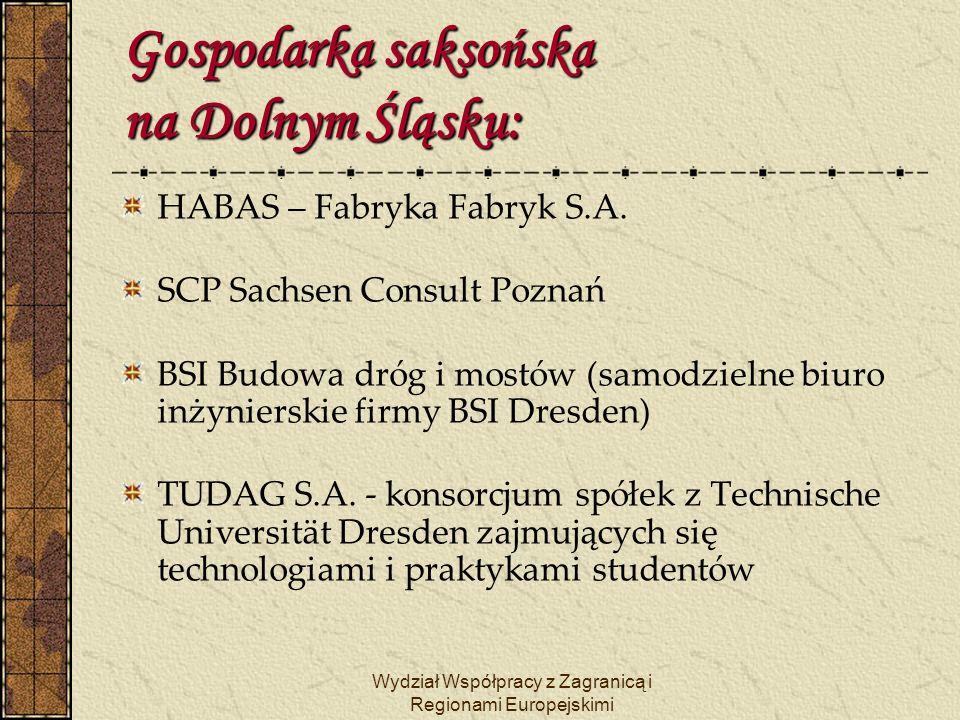 Wydział Współpracy z Zagranicą i Regionami Europejskimi Partnerstwo stolic Wrocław - Drezno Partnerstwo stolic Wrocław - Drezno Kontakty partnerskie między Wrocławiem a Dreznem nawiązano w 1963 roku, a umowę o partnerstwie znowelizowano w 1991 roku.