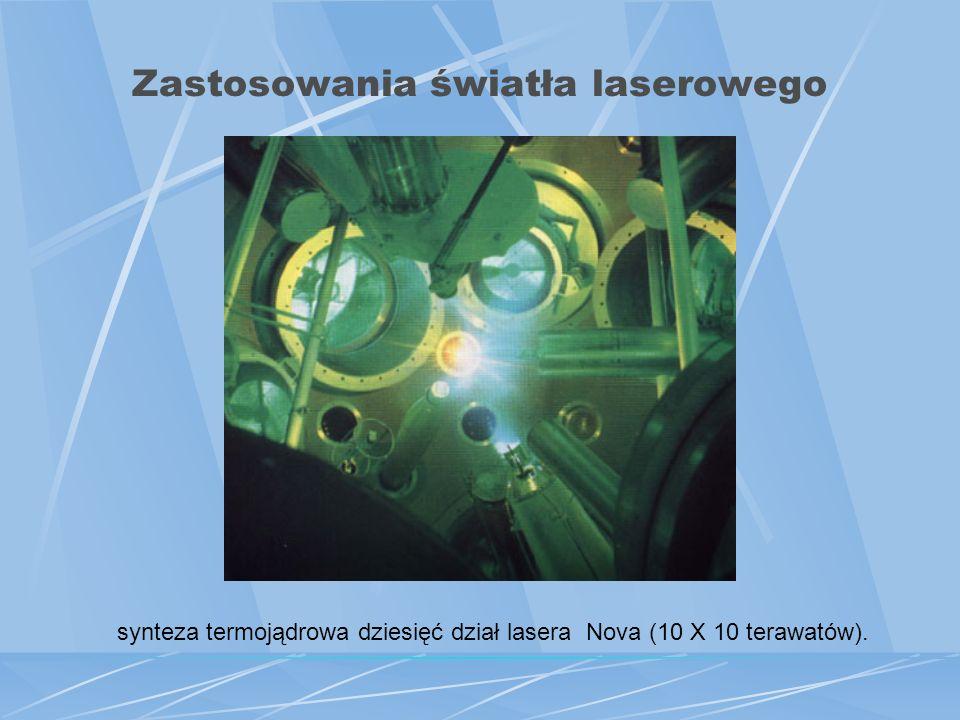 Zastosowania światła laserowego Zastosowania militarne – celowniki laserowe