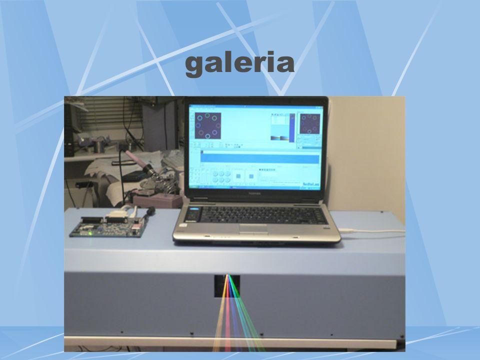 Projektor - specyfikacja parametrów pełna zgodność ze specyfikacją ILDA, moc wyjściowa: >400mW, kolory/moc: niebieski 80mW, zielony 100mW, czerwony 24