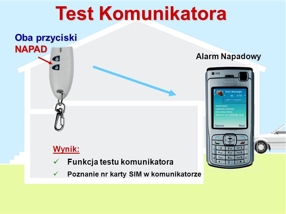Zdalny dostęp do systemu Autoryzowany nr telefonu: Zadzwoń i poczekaj na odpowiedź (np. po 5 dzwonkach) Wprowadź kod (master, użytkownika, serwisowy)