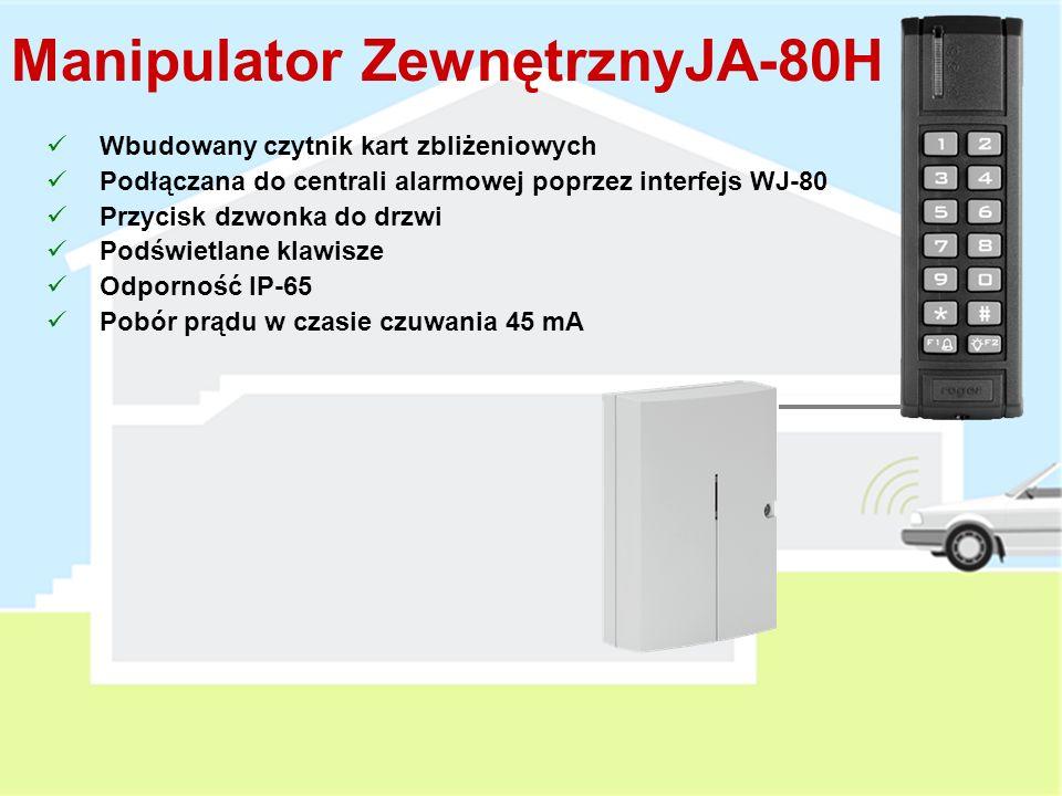 Karta Zbliżeniowa PC-01 Karta Zbliżeniowa RFID (EM UNIQUE 125kHz) Możliwość przypisania do 50 kart użytkowników Funkcje kart są tożsame z funkcjami ko