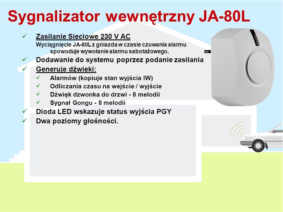 Czujka Zbicia Szkła JA-85B Mini Bezprzewodowa Czujka Zbicia Może być używana w domu lub samochodzie (CA-1802 lub 1803) 15 minutowy tryb testowy po zamknięciu obudowy Przełączniki DIP: DEL / INS (reakcja czujki) Supervision ON / OFF (sprawdzanie obecności w systemie) Detekcja GB – do 9m (Testowanie przy użyciu GBT-212) Zasięg pracy 200 metrów 1 x AA Bateria litowa 3 V 3 lata żywotności