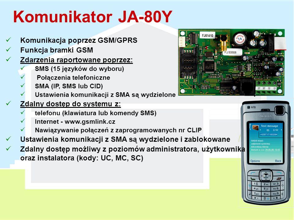 Całkowicie Bezprzewodowy Sygnalizator AKU / OPT Narastający poziom dźwięku Maksymalny czas sygnalizacji akustycznej: 3 min. Sygnalizacja optyczna do 3