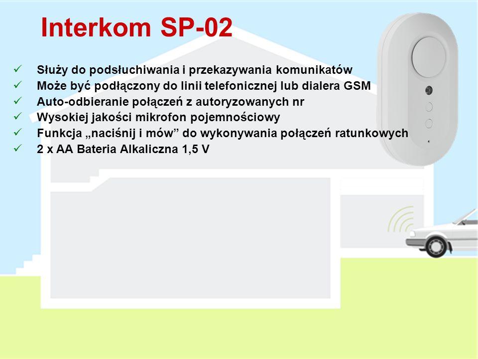 Komunikator JA-80X Raportowanie Zdarzeń za pomocą wiadomości głosowych Powiadomienie na 4 nr telefonów 8 głosowych informacji Nazwa systemu Informacja o alarmie włamaniowym Informacja o alarmie pożarowym Informacja o alarmie sabotażowym Informacja o alarmie napadowym Informacja o alarmie technicznym Powitanie użytkownika Prośba o wprowadzenie kodu Pozwala na zdalny dostęp z zaprogramowanych nr (DTMF) Raportowanie zdarzeń do SMA w formacie CID (PSTN) Może być instalowany łącznie z komunikatorem JA-80Y lub JA-80V