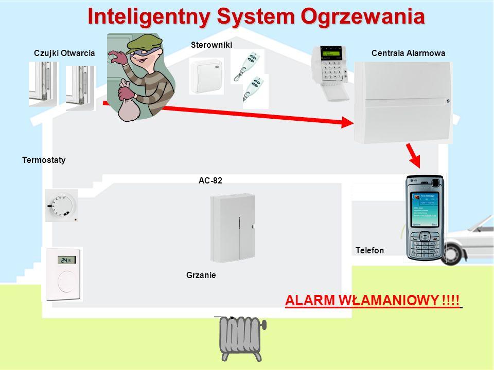 Grzanie AC-82 Termostaty Czujki OtwarciaCentrala Alarmowa Sterowniki Telefon Inteligentny System Ogrzewania Sterowanie ogrzewaniem z Wykorzystaniem Cz