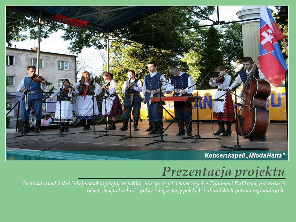Festiwal trwał 2 dni i obejmował występy zespołów muzycznych i tanecznych z Dynowa i Kulikowa, prezentacje miast, święto kuchni – pokaz i degustację p