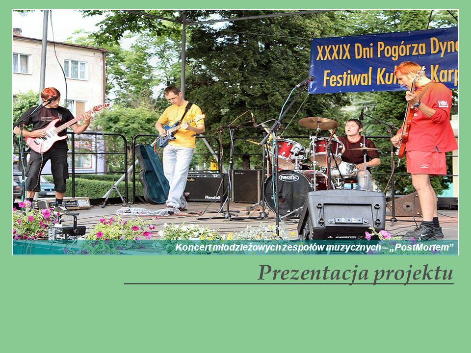 Prezentacja projektu Koncert młodzieżowych zespołów muzycznych – PostMortem
