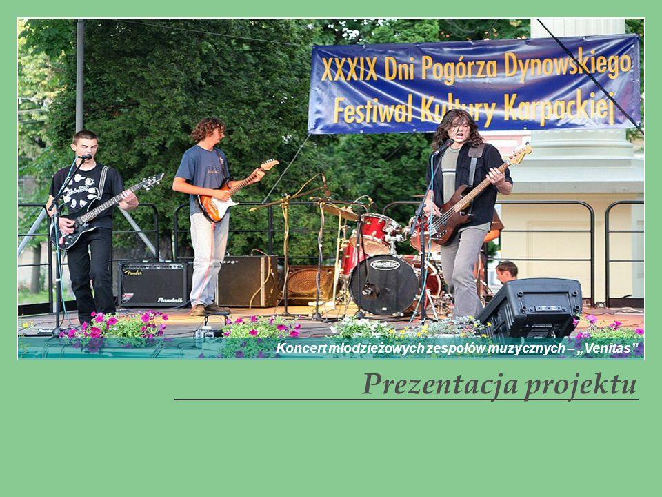 Prezentacja projektu Koncert młodzieżowych zespołów muzycznych – Venitas