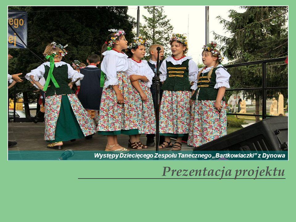Występy Dziecięcego Zespołu Tanecznego Bartkowiaczki z Dynowa