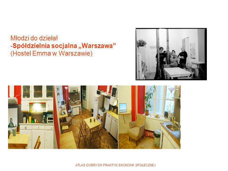 ATLAS DOBRYCH PRAKTYK EKONOMII SPOŁECZNEJ Młodzi do dzieła! -Spółdzielnia socjalna Warszawa (Hostel Emma w Warszawie)