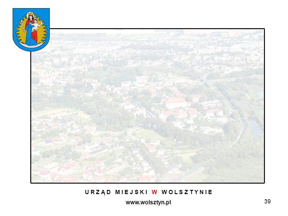 39 U R Z Ą D M I E J S K I W W O L S Z T Y N I E www.wolsztyn.pl