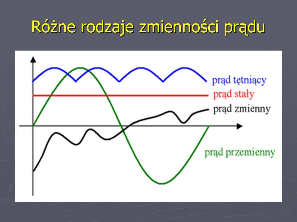 Polaryzacja złącza p-n W zależności od biegunowości napięcia zewnętrznego-dwa rodzaje polaryzacji: W zależności od biegunowości napięcia zewnętrznego-dwa rodzaje polaryzacji: w kierunku przewodzenia, wówczas dodatni biegun napięcia jest dołączony do obszaru p; bariera potencjału U D zmniejsza się o wartość zewnętrznego napięcia, w obwodzie płynie prąd w kierunku przewodzenia, wówczas dodatni biegun napięcia jest dołączony do obszaru p; bariera potencjału U D zmniejsza się o wartość zewnętrznego napięcia, w obwodzie płynie prąd w kierunku zaporowym, wówczas dodatni biegun napięcia jest dołączany do obszaru n, bariera potencjału zwiększa się, płynie tylko niewielki prąd wsteczny.