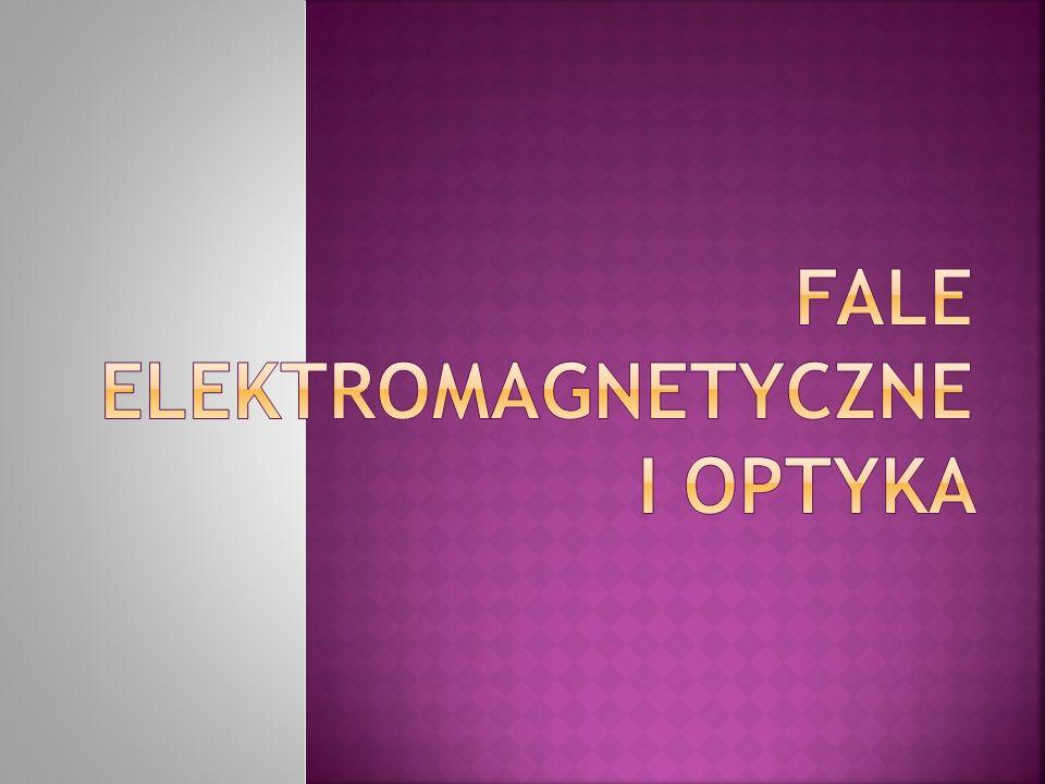 Fale elektromagnetyczne można podzielić ze względu na częstotliwość lub długość, taki podział nazywa się widmem fal elektromagnetycznych.