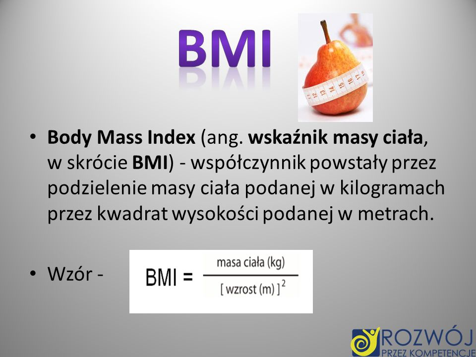 Body Mass Index (ang.