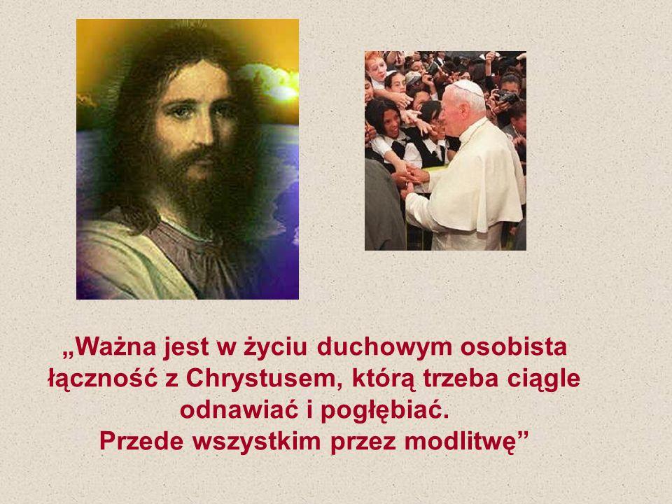 Chrystus również i dziś, po dwóch tysiącach lat, staje wśród nas jako Ten, który przynosi człowiekowi wolność opartą na prawdzie