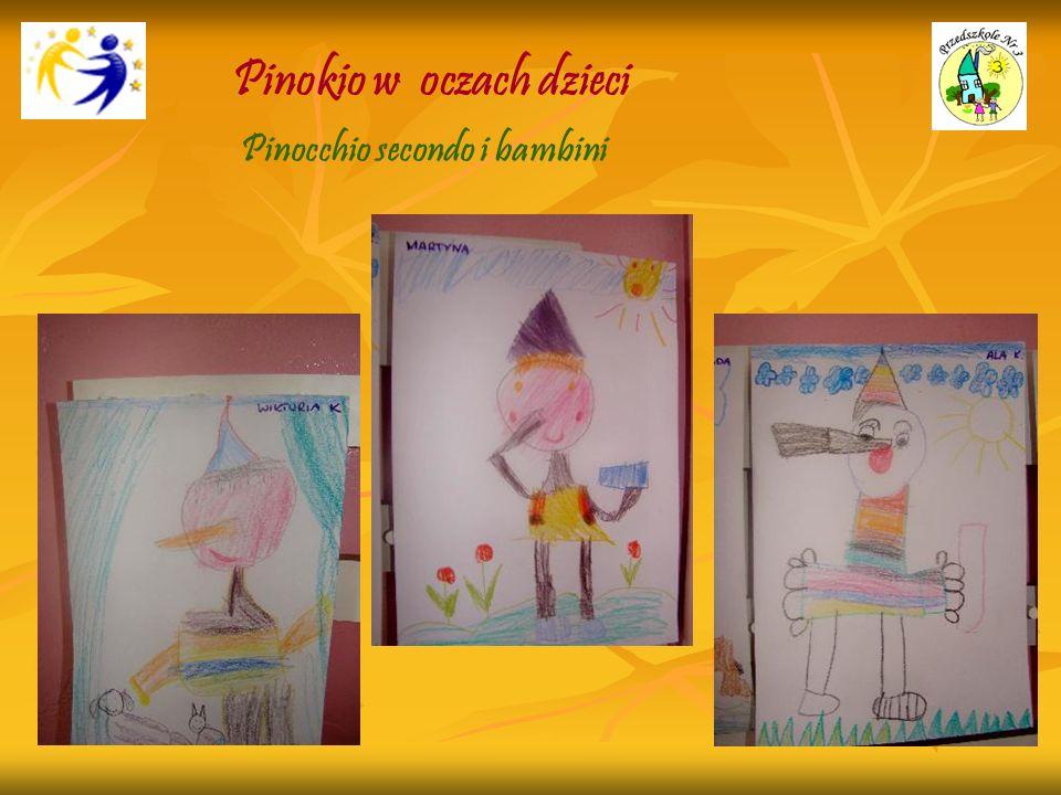 Pinokio w oczach dzieci Pinocchio secondo i bambini