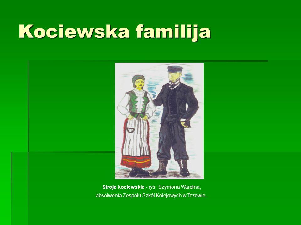 Kociewska familija Stroje kociewskie - rys.