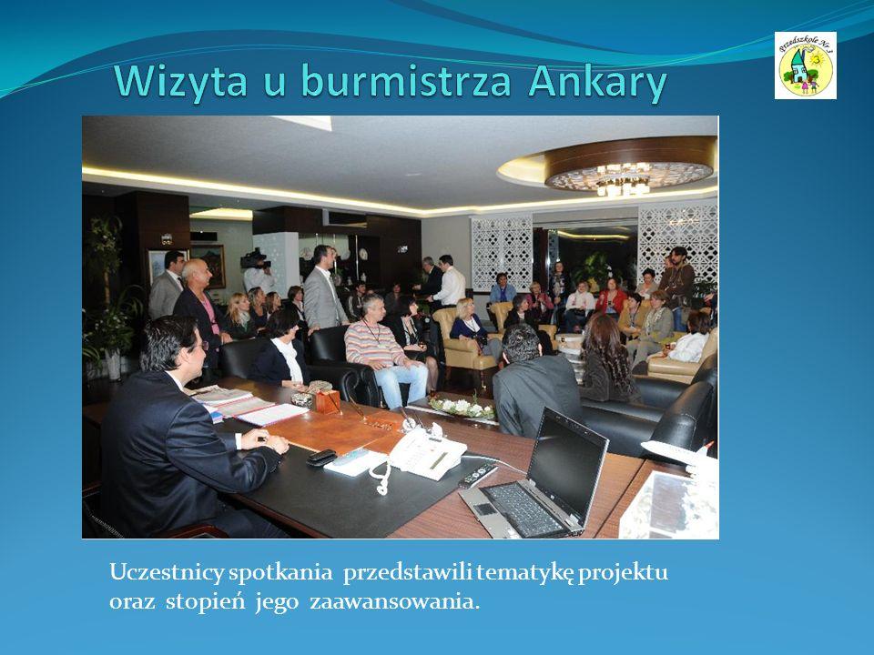 Uczestnicy spotkania przedstawili tematykę projektu oraz stopień jego zaawansowania.
