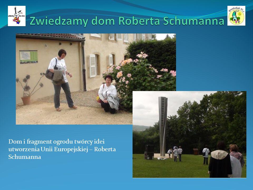 Dom i fragment ogrodu twórcy idei utworzenia Unii Europejskiej – Roberta Schumanna