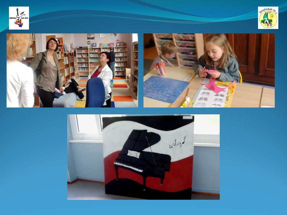Wydrukowane slajdy prezentacji z obchodów Comenius Day w Przedszkolu nr 3 w Zabrzu